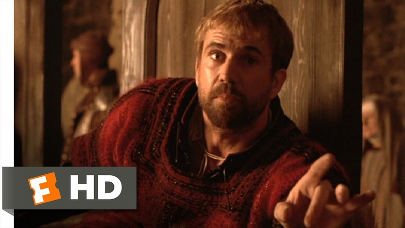 Hamlet (510) Movie CLIP - Frightened with False Fire (1990) HD
