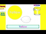 The Apple is Red - (Full) Teach Colors, Learn Colours, Baby Toddler Preshcool Kids Songs