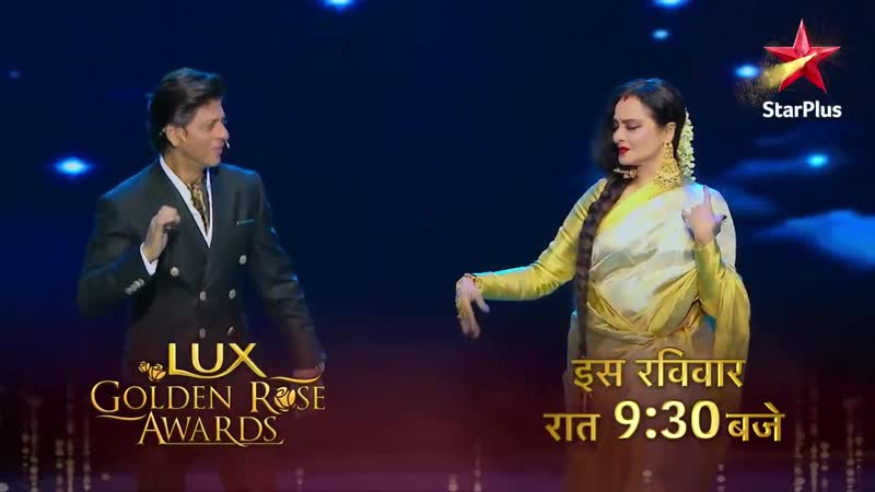 The Badshah is all hearts for the beauty queen of Bollywood A moment you wouldnt wanna miss on LuxGoldenRoseAwards