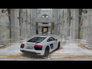 Audi R8 RWS и Audi R8 V10 _ Аль-Хазм, Катар