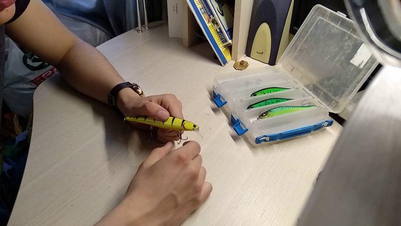 Видеообзор японских воблеров по заказу fMagazin