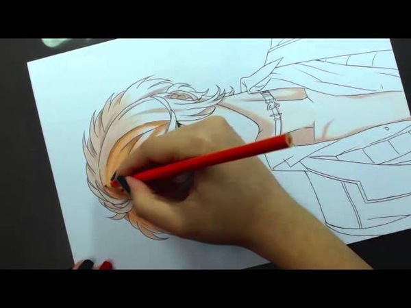 Speed Drawing - Sakamaki Shuu (Diabolik Lovers)