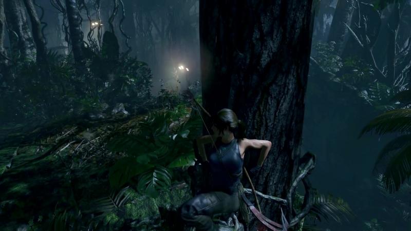 Начало геймплея Shadow of the Tomb Raider.