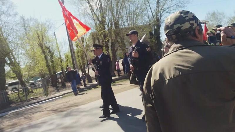 Бессмертный полк в Бичуре