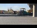 MaiN inşaat Finişer ile serme sıkıştırma imalatı