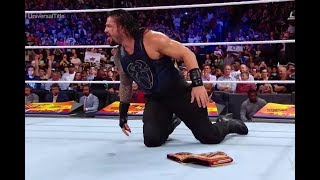 Brock leaner vs Roman reigns Summerslam 19 August 2018 Full Match