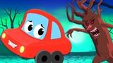 страшные леса Хэллоуин рифмы детская музыка Scary Rhymes For Kids Preschool Songs Scary Woods