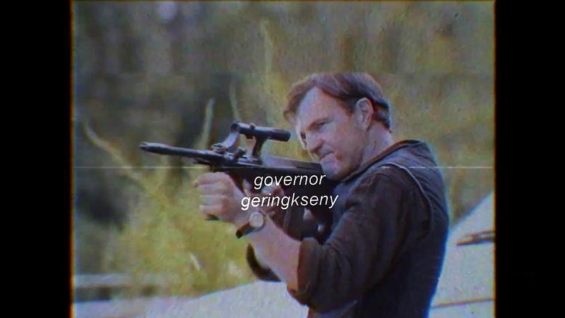 `the walking dead vine. {governor} go fuck yourself.