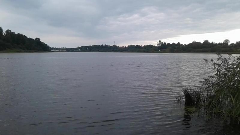 Рыбалка на реке Волхов в Старой Ладоге (11.08.2018.)Часть 1