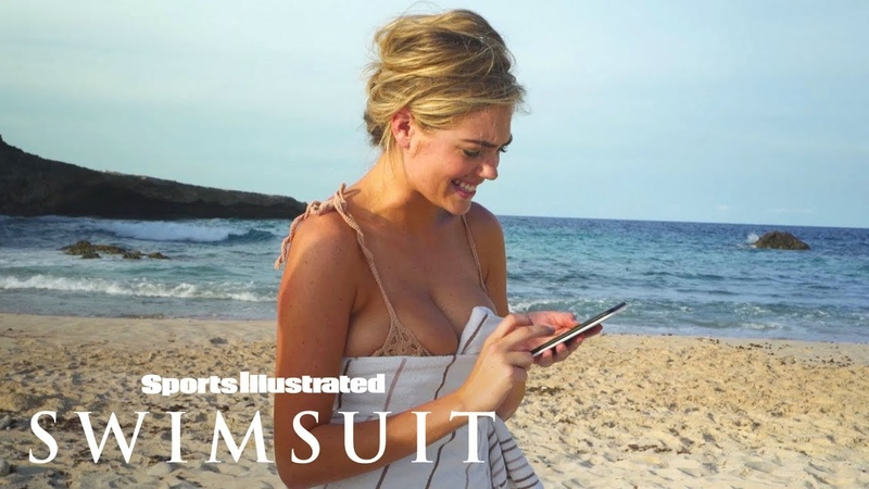 Kate Upton Gets Important News About Justin Verlander During Her Shoot | Sports Illustrated Swimsuit