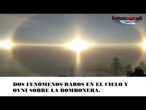 UFO, DOS FENÓMENOS RAROS EN EL CIELO Y OVNI SOBRE LA BOMBO NERA. Mayo/2018.
