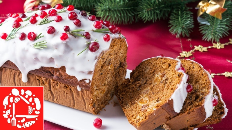 Рождественский Кекс с изюмом, орехами и сухофруктами! Легкий рецепт кекса