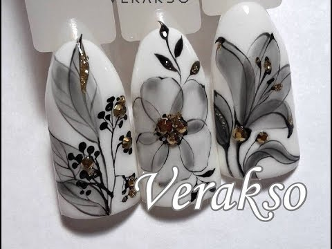 Nail Art Tutorial from Verakso✔Easy Nail Art Tutorial for Beginners (BeautyIdeas Nail Art)