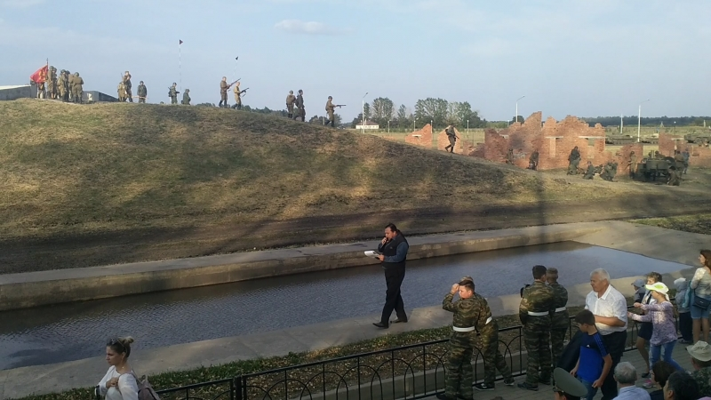 реконструкция в Прохоровке