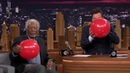 Morgan Freeman and Jimmy  Fallon While Sucking Helium