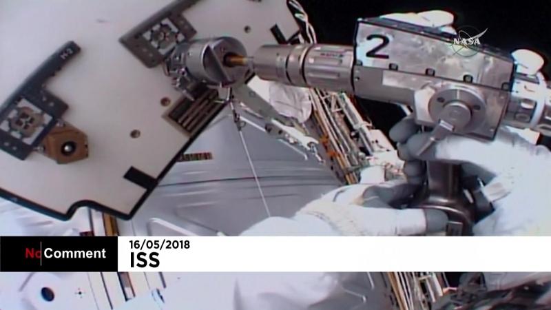 NC Ремонтные работы в открытом космосе