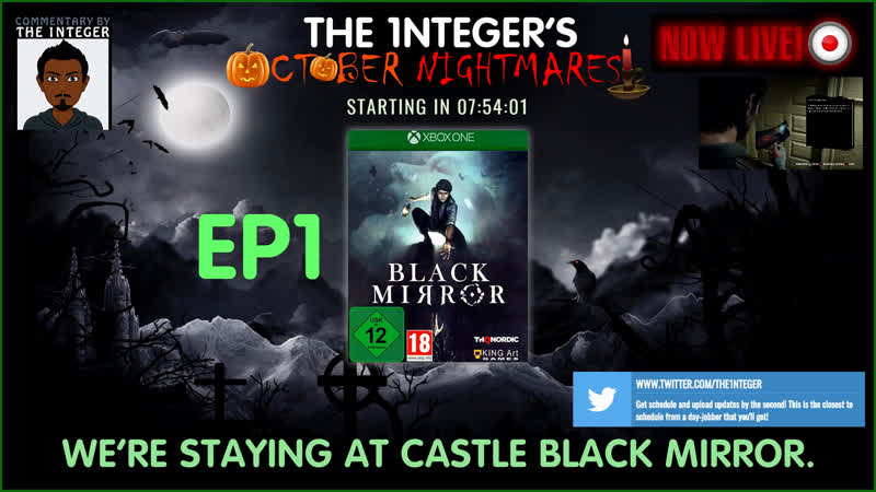 We're spending the night at Black Mirror Castle...wonderful! - EP1