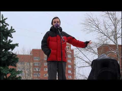 Митинг в защиту Пуловского леса 03 02 2019