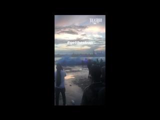 Съемка совместного клипа 69 с 50cent