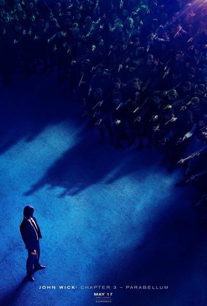 Дублированный трейлер боевика «Джон Уик 3»