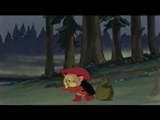 Кот в сапогах (Япония, 1969) полнометражный мультфильм, советский дубляж (ВХС) с участием Георгия Вицина