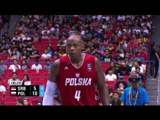 Сербия - Польша (баскетбол 3 на 3, ЧМ 2018) полуфинал
