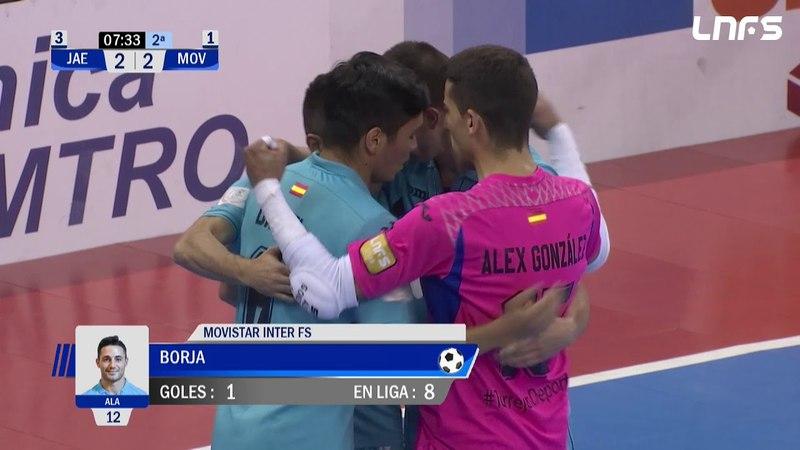 Чемпионат Испании. Jaen Paraiso Interior - Movistar Inter Полуфинал. 2 матч
