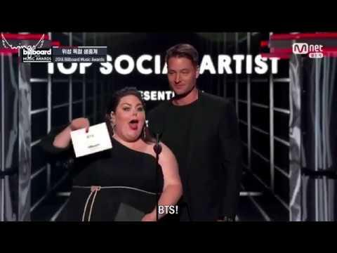 "[RUS SUB] [РУС САБ] BTS получили ""Top Social Artist"" на Billboard Music Awards"