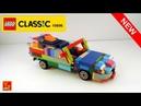 LETS BUILD LEGO - 1970s SPORTS CAR, CABRIOLET