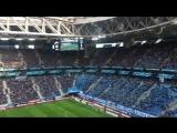 Аплодисменты от стадиона Шатову за гол! Прямо как Турин в адрес Криштиану