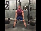 Пит Рубиш - тяга 350 кг