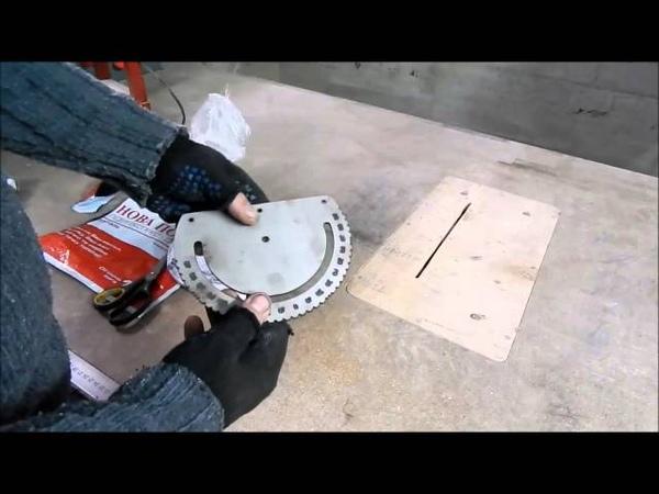 Заготовки для транспортира выполненные лазерной резкой