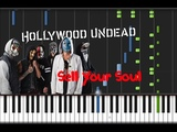 Hollywood Undead - Sell Your Soul Piano Cover Tutorial (