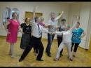 Занятия бальными танцами по проекту Московское долголетие