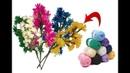 Woollen flower bunches Best craft and easy DIY Idea