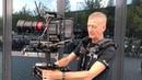 GarrettBrown Chris Fawcett presenting new Steadicam M-1 Volt