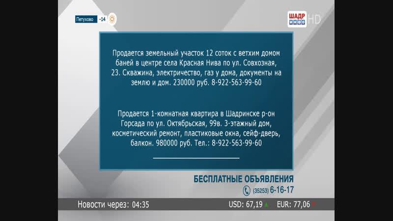 Live ШАДР-инфо SHADR.info