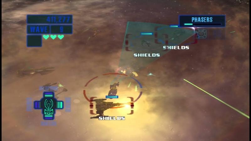 Star Trek Encounters Gameplay (Onslaught with Intrepid class starship)