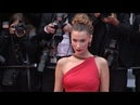 Bella Hadid on the red carpet for the premiere of Dolor Y Gloria in Cannes