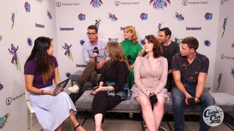 Comic Con 2018 Интервью для Entertainment Weekly о сериале Касл Рок 20 07 18