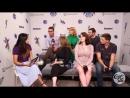 «Comic-Con 2018» Интервью для «Entertainment Weekly» о сериале «Касл-Рок» 20.07.18