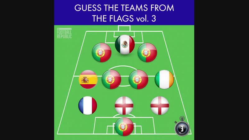 Can you guess every team just by the nationality of the players 🤔