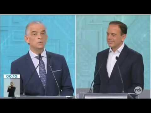 João Doria fez graça COM Márcio França e é humilhado e posto em seu lugar.