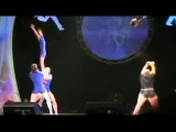 Акробатический этюд 'Силачи', исполняют акробаты АДФ