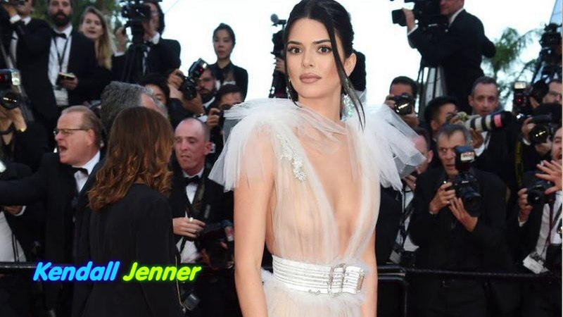 Kendall Jenner Just Wore a Naked Swan Dress to Cannes