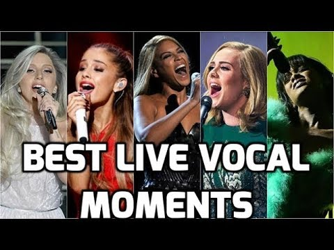 Female Singers Best Live Vocals Top Greatest Live Musical Performances