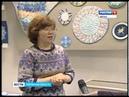 Выставка лоскутного шитья Цвет небесный в музее дымковской игрушкиГТРК Вятка