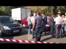 Видео с места стрельбы. Нападение на инкассаторов СВАО