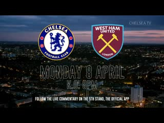 Chelsea v West Ham coming up! COME ON YOU BLUES! 🔵💪