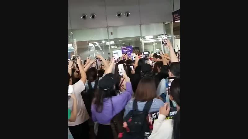 20181001 Lee Joongi at Chiang Rai Airport by namfon msl